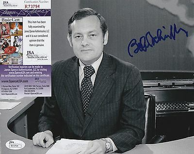 Bob Schieffer Signed 8x10 Photo w JSA COA #R73794 CBS Face The Nation 60 Minutes