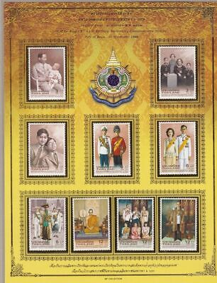 Thailand/Tailandia - Lot of 5 Sheetlets with set MNH/**