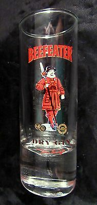 Tall Shot Glass Beefeater Dry Gin Made in London England