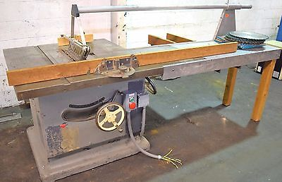 "Oliver #88-D 18"" Table Saw"