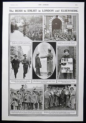 World War One Enlistment Charles Jarvis Edward Dwyer Vc Ww1 Photo Article 1915