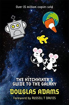 The Hitchhiker's Guide to the Galaxy: 1/5 Douglas Adams Paperback Book 2009