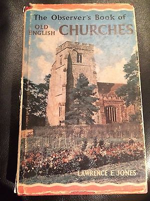 The Observer's Book of Old English Churches -- Hardcover – 1965 by Lawrence E. J