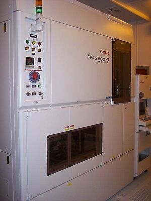 CANON FPA 2500 i3 WAFER STEPPER, 150 MM