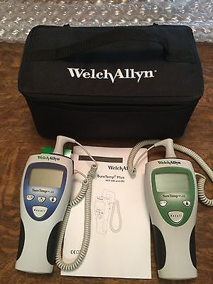 Welch Allyn SureTemp Plus Model 692 & 690 Thermometer With Bag