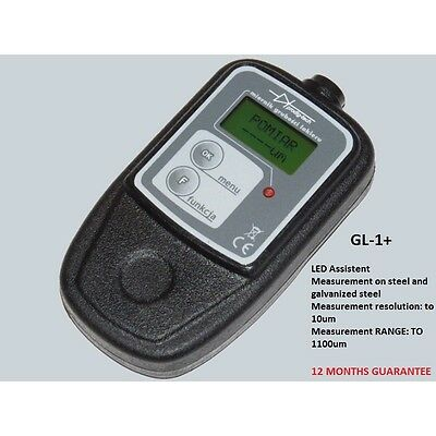 Coating Check Paint Thickness Gauge Car Testing Steel Galvanized Steel GL-1+