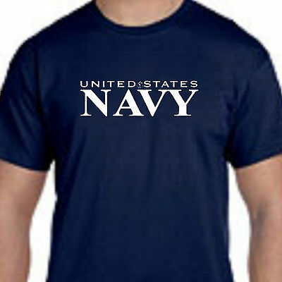 U.S.N. United States Navy Military Armed Forces Tee T-Shirt Small-5XL