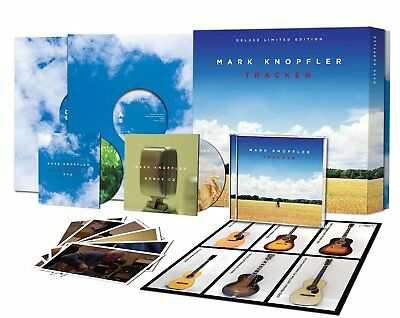 Mark Knopfler Tracker limited 2 LP / 2 CD / DVD box set NEW sealed
