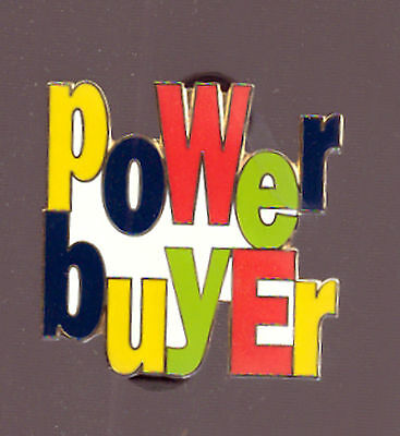 Power Buyer Pins! Reward Your Customers When They Purchase From You! Set Of 20