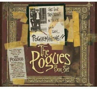 Pogues Just Look Them Straight In The Eye & Say Pogue.. 5 CD NEW sealed