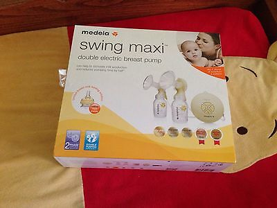 Medela Maxi Double Electric Breast Pump - Near New With Warranty