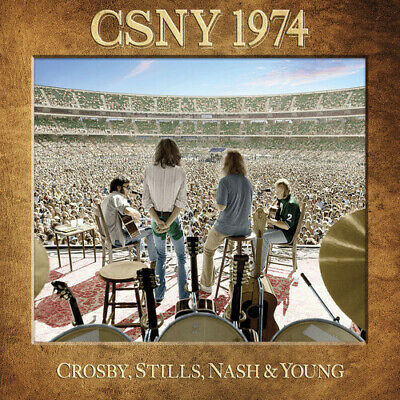 Crosby Stills Nash & Young Csny 1974 3 CD + DVD NEW sealed