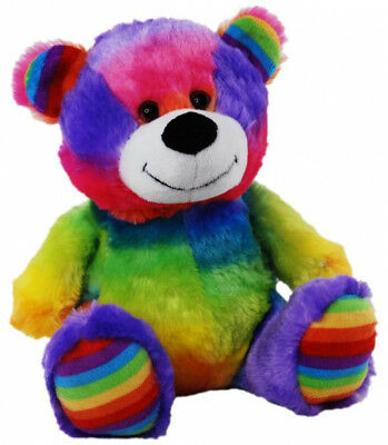 Elka Jelly Rainbow Teddy Bear 18cm