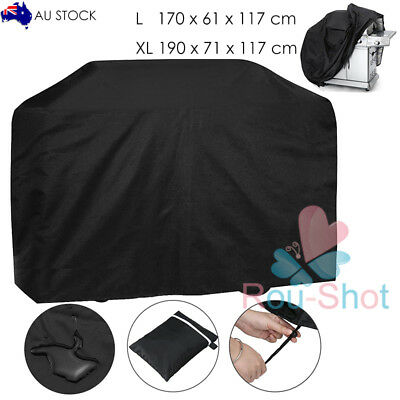 BBQ Cover Barbecue Cover Grill Cover Rain Dust Drotector Waterproof Outdoor【AU】