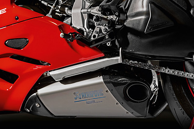 Akrapovic Titanium Racing Slip-On Exhaust for Panigale 1299 / S with Up-Map Key