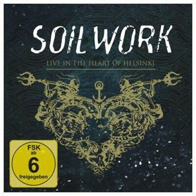 Soilwork Live In The Heart Of Helsinki + Blu-ray 3 CD NEW sealed