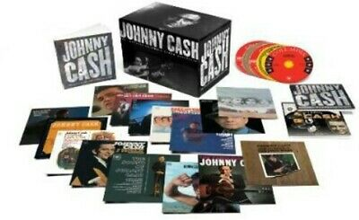 Johnny Cash Complete Columbia Album Collection box set 63 CD NEW sealed