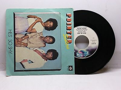 Pointer Sisters He's So Shy - Movin' On Planet W 12470 Molto Bello