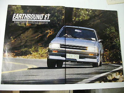 1984 Nissan Pulsar Turbo Et Complete Magazine Road Test