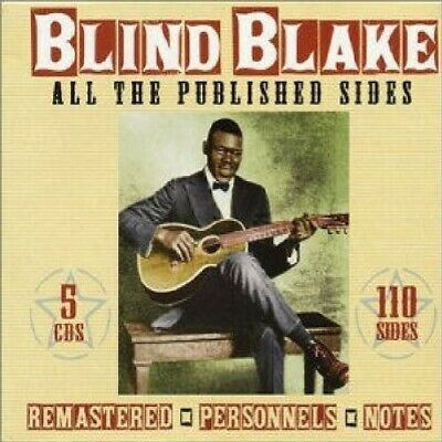 Blind Blake All The Published Sides box set 5 CD NEW sealed
