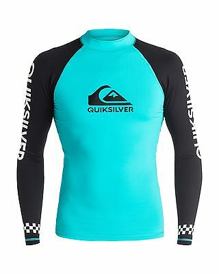 NEW QUIKSILVER™  Mens On Tour Long Sleeve Rash Vest Rashie Rashvests