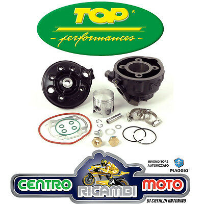GRUPPO TERMICO CILINDRO TOP BLACK TROPHY D 47 70 cc YAMAHA AEROX 50 2T 9931310