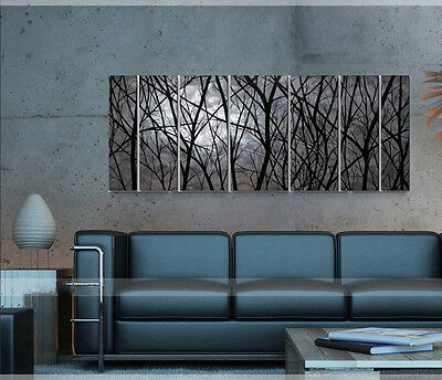 Abstract Metal Wall Art Modern Home Sculpture Wall Hanging Painting Decor