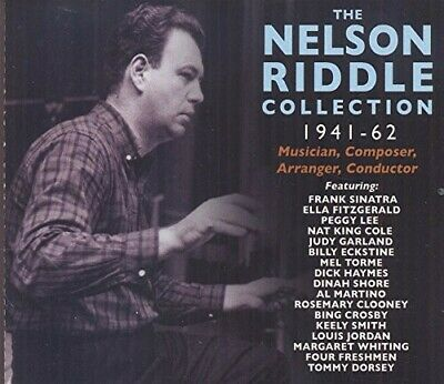 Nelson Riddle Collection 1941-62 box set 4 CD NEW sealed