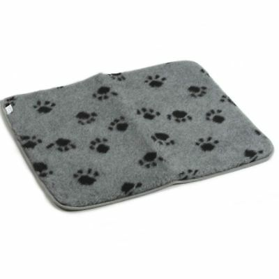 Beeztees Dog Crate Bedding Mat Polyester Cushion Washable 63x55 cm Grey 704007