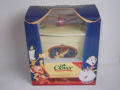 Disney Beauty And The Beast Clover Promotion Butter Dish Special Edition + Tubs