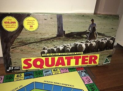 SQUATTER JEDKO GAMES Board Game Contents New