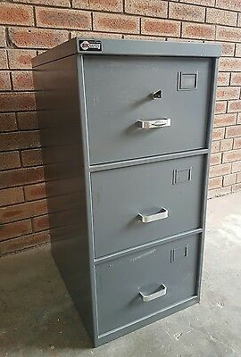 BK Safes C Class Security Container, 3 Drawer Filing Cabinet / Document Safe