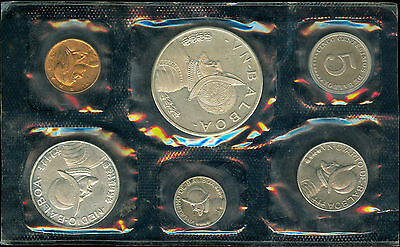 1968 Panama Proof Set With Silver