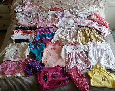 girls 3-6 months large summer bundle.