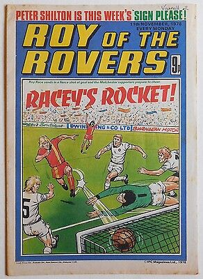 ROY OF THE ROVERS Comic - 11th November 1978