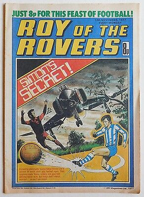 ROY OF THE ROVERS Comic - 12th November 1977