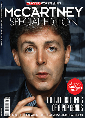 Special Edition Paul McCartney Classic Pop Magazine 132 Pages NEW