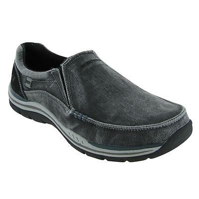 Skechers Expected Avillo Mens Memory Foam  Large Size Casual Slip On Shoes