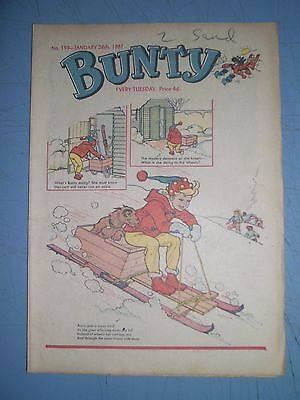 Bunty issue 159 dated January 28 1961