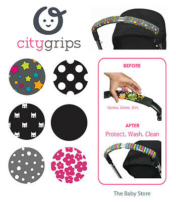 Choopie CityGrips - Large Single Bar. Pushchair Handle Replacement. 6 Patterns
