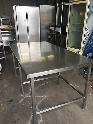 Stainless Steel Island Bench Pastry Prep Bench Excellent Condition