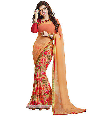 Bollywood Indian Pakistani Ethnic Party Wear Saree Designer Sari with Blouse 024