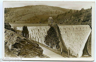 Pen-y-Gareg Dam Elan Valley RP c1930s by R.D.M. Hill, The Albion [P158