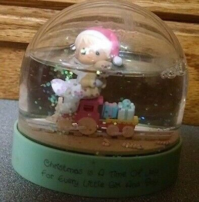 Precious Moments Snowglobe - Christmas is a Time of Joy