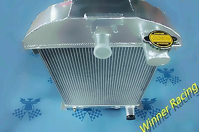 "2.2"" Radiator For Ford Car 1936 W/chevy 350 V8 Engine Swap All-Aluminum 1000Hp"