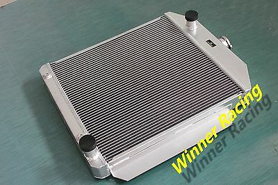 "2.2"" Radiator For Ford Car W/chevy 350 Sb V8 Engine Auto 1949-1953 All-Aluminum"