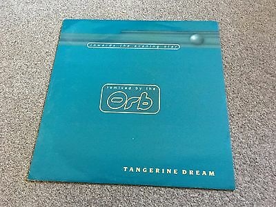 """Tangerine Dream - Towards The Evening Star Remixed By The Orb - 1997 12"""" Colourd"""