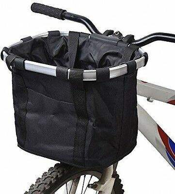 Docooler Bicycle Bike Detachable Cycle Front Canvas Basket Carrier Bag Pet Pet