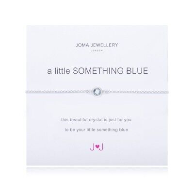 Joma Jewellery A Little Something Blue Bracelet Silver Plated