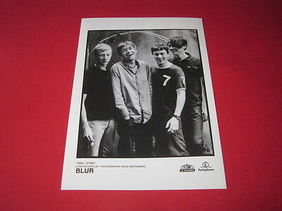 BLUR  7 x 5 inch promo press photo photograph CT#~1642